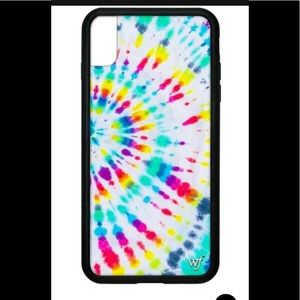 wildflower tie dye phone case xs max 🌈